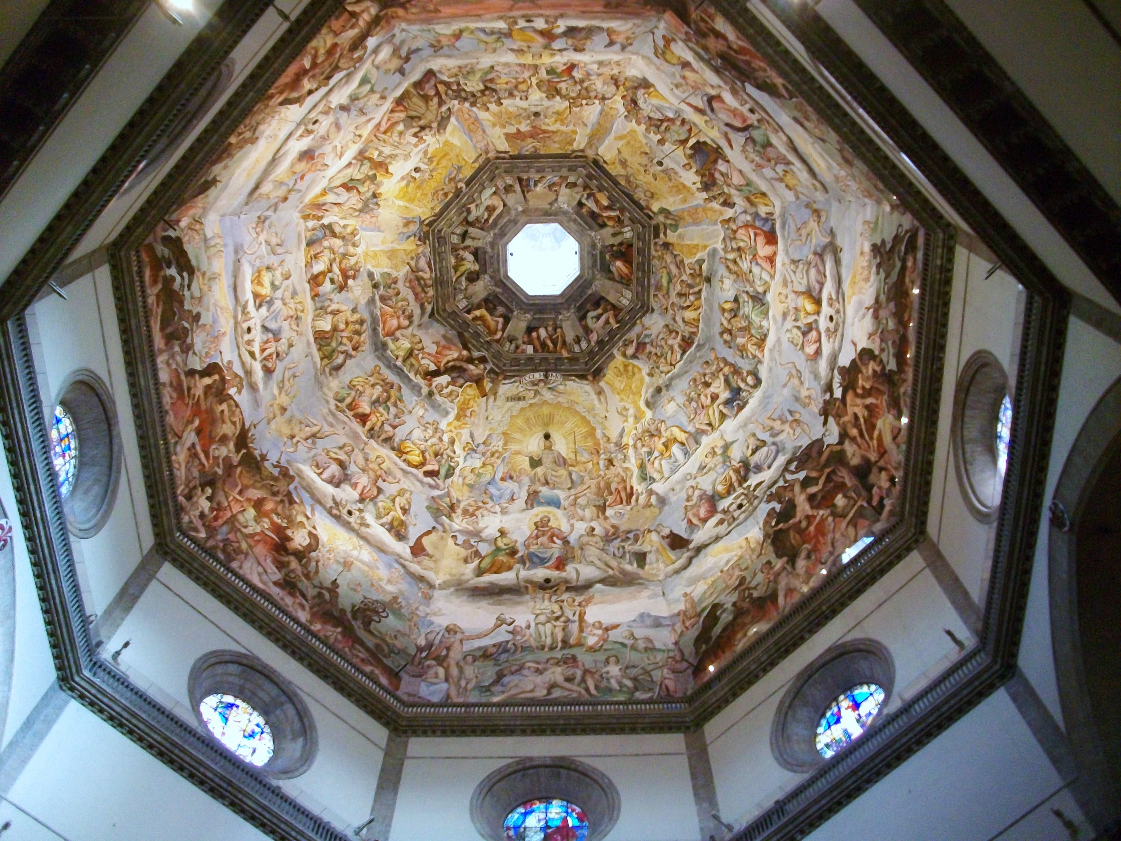 File Cúpula De Santa Maria Del Fiore Frescos Jpg Wikimedia Commons