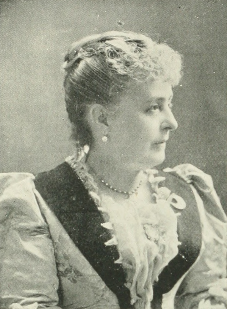 CAROLINE LAVINIA SCOTT HARRISON A woman of the century (page 370 crop).jpg