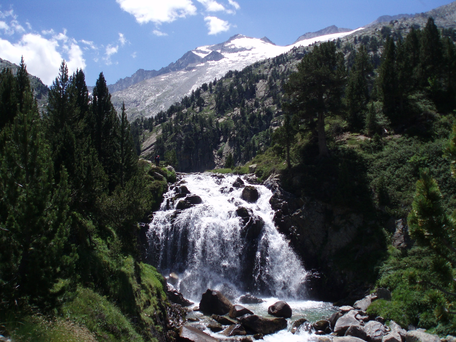 Fichier cascada aigualluts y aneto jpg wikip dia for Cascada par
