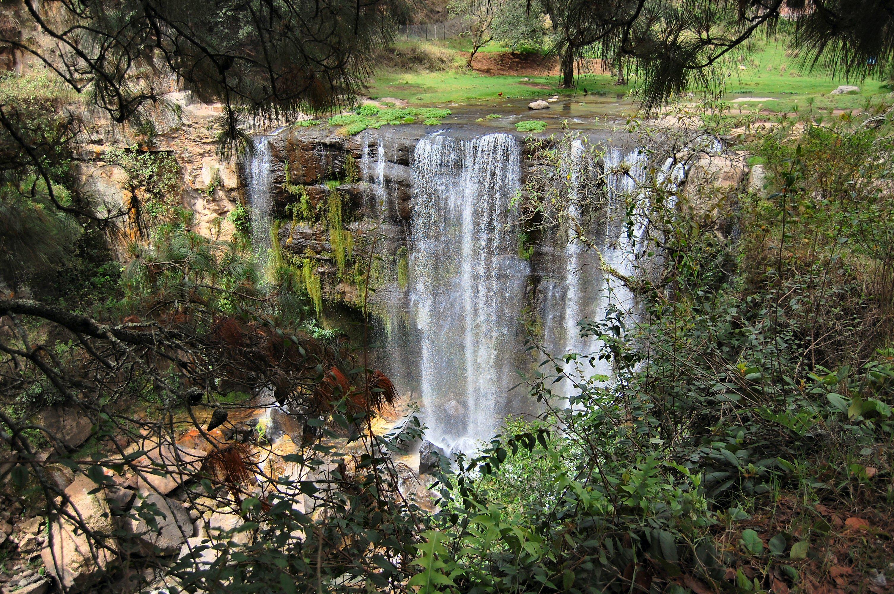 caída de la cascada de San Pedro