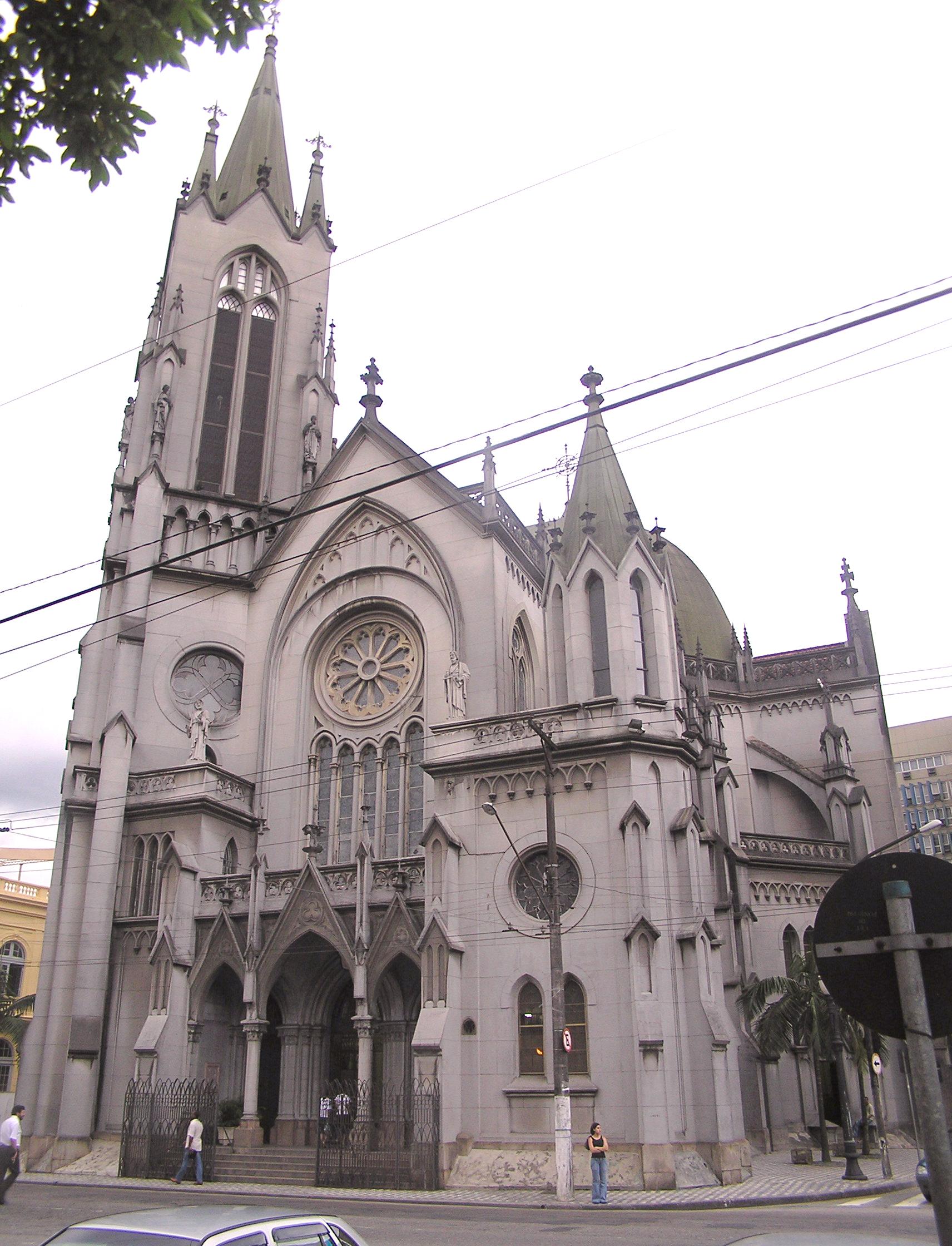 Depiction of Catedral de Santos