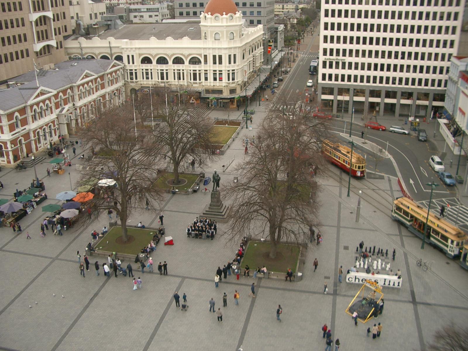 Christchurch Wikipedia: Cathedral Square, Christchurch