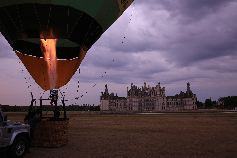 montgolfiere chambord