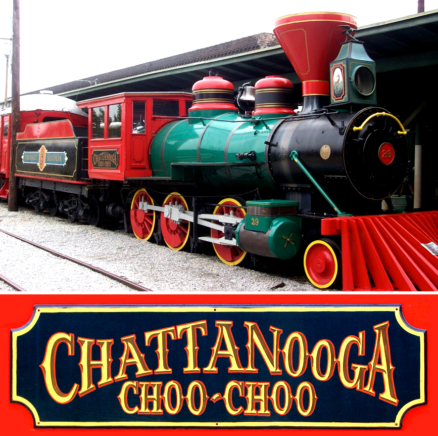 Image result for chattanooga choo choo