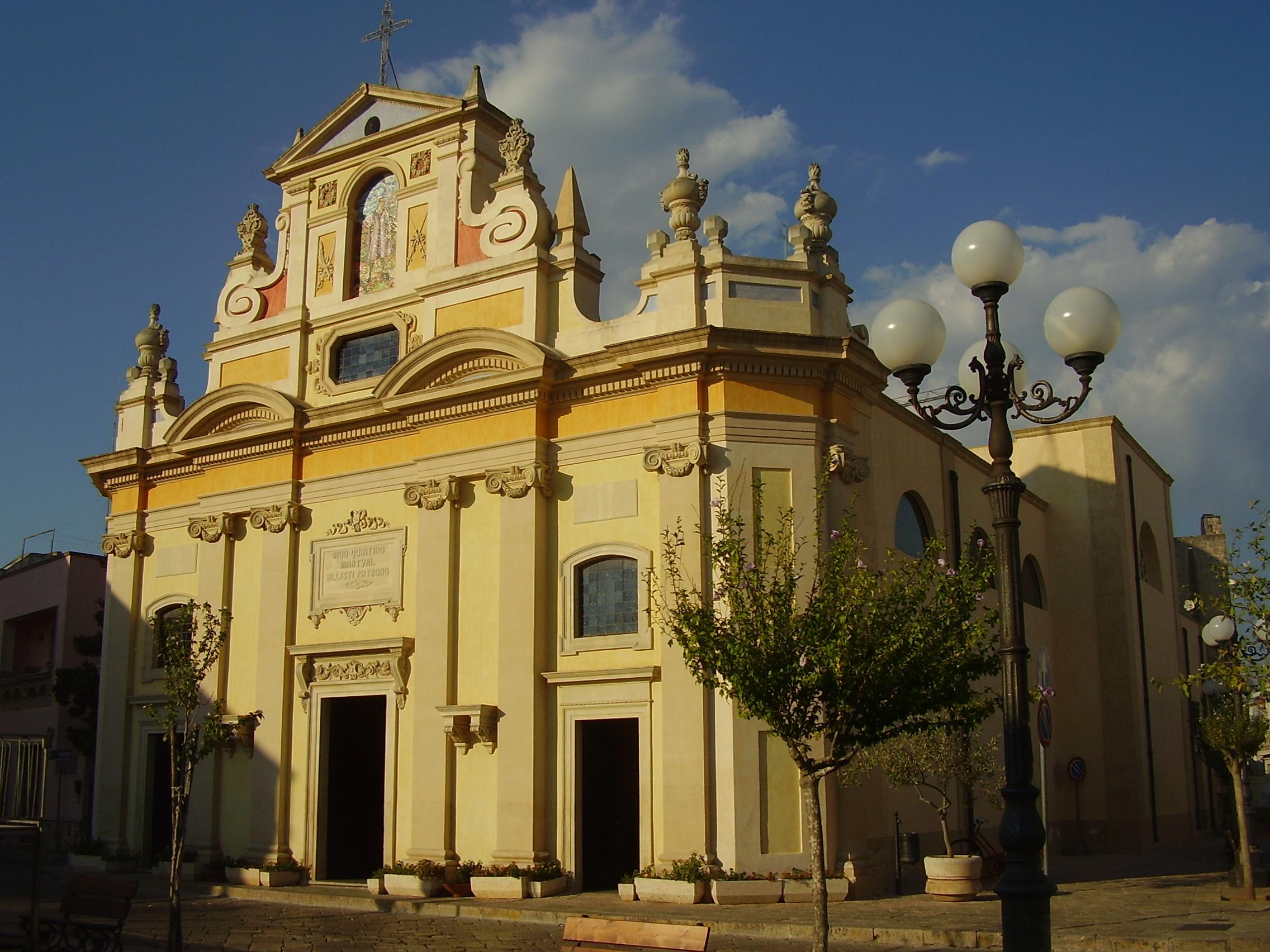 Alliste Italy  city photos : Chiesa San Quintino Alliste Wikipedia
