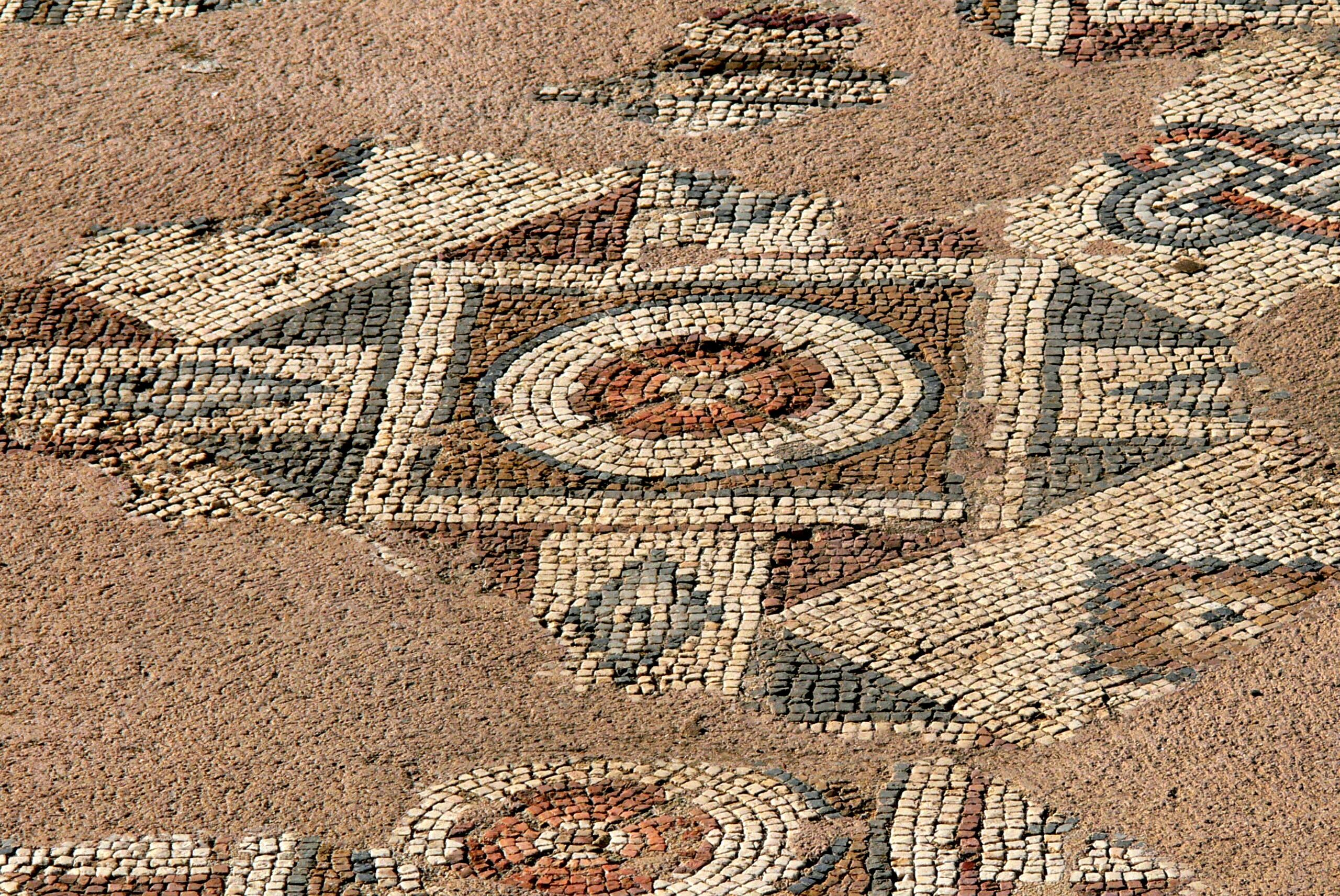 File:Chrysopolitissa   Frühchristliche Kirche 4 Mosaik .