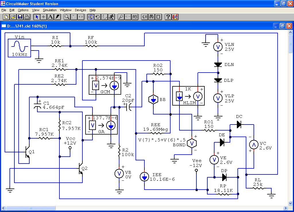 Nice Free Circuit Maker Elaboration - Electrical Circuit Diagram ...
