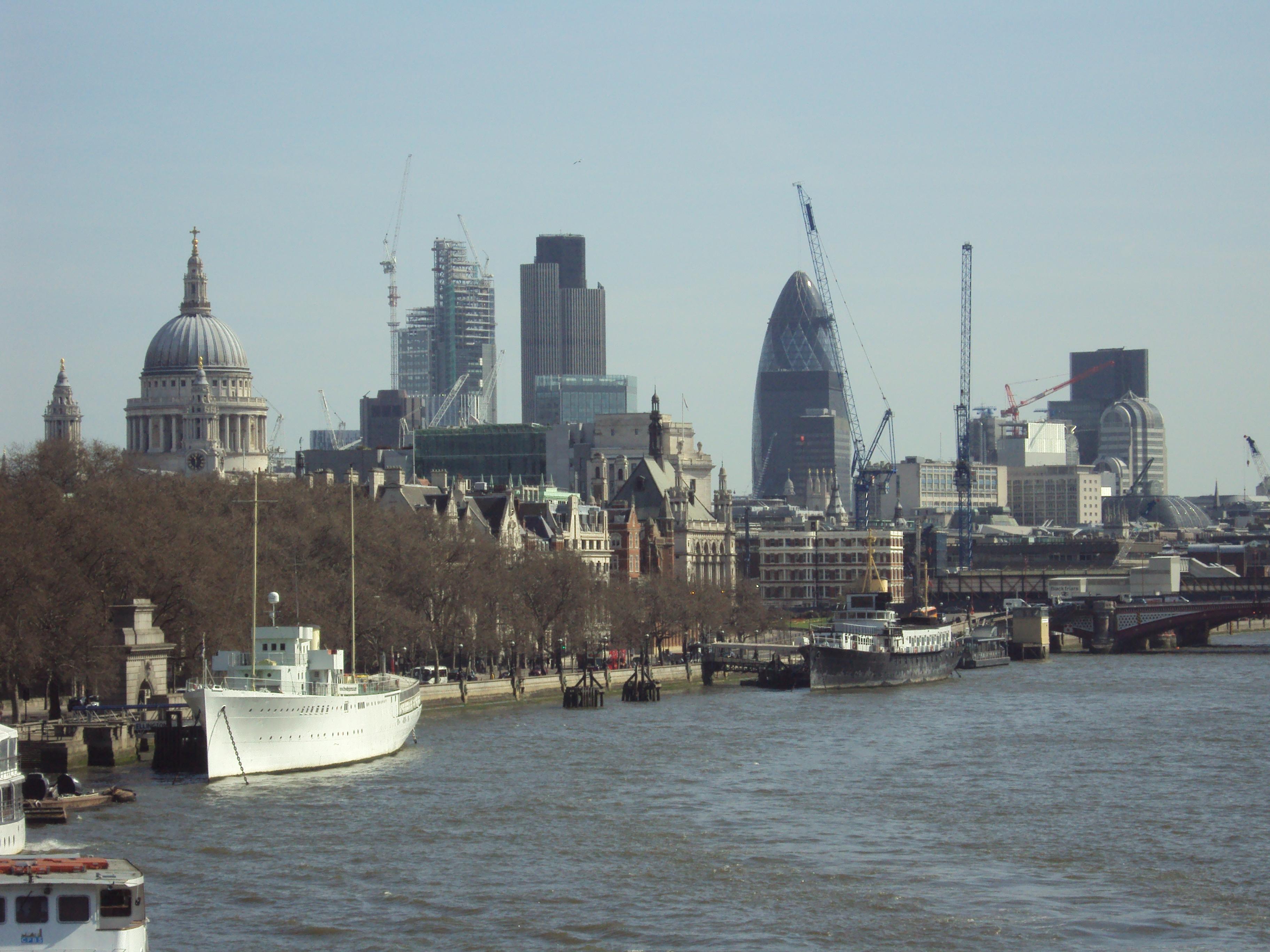 File City Of London Viewed From Waterloo Bridge Jpg