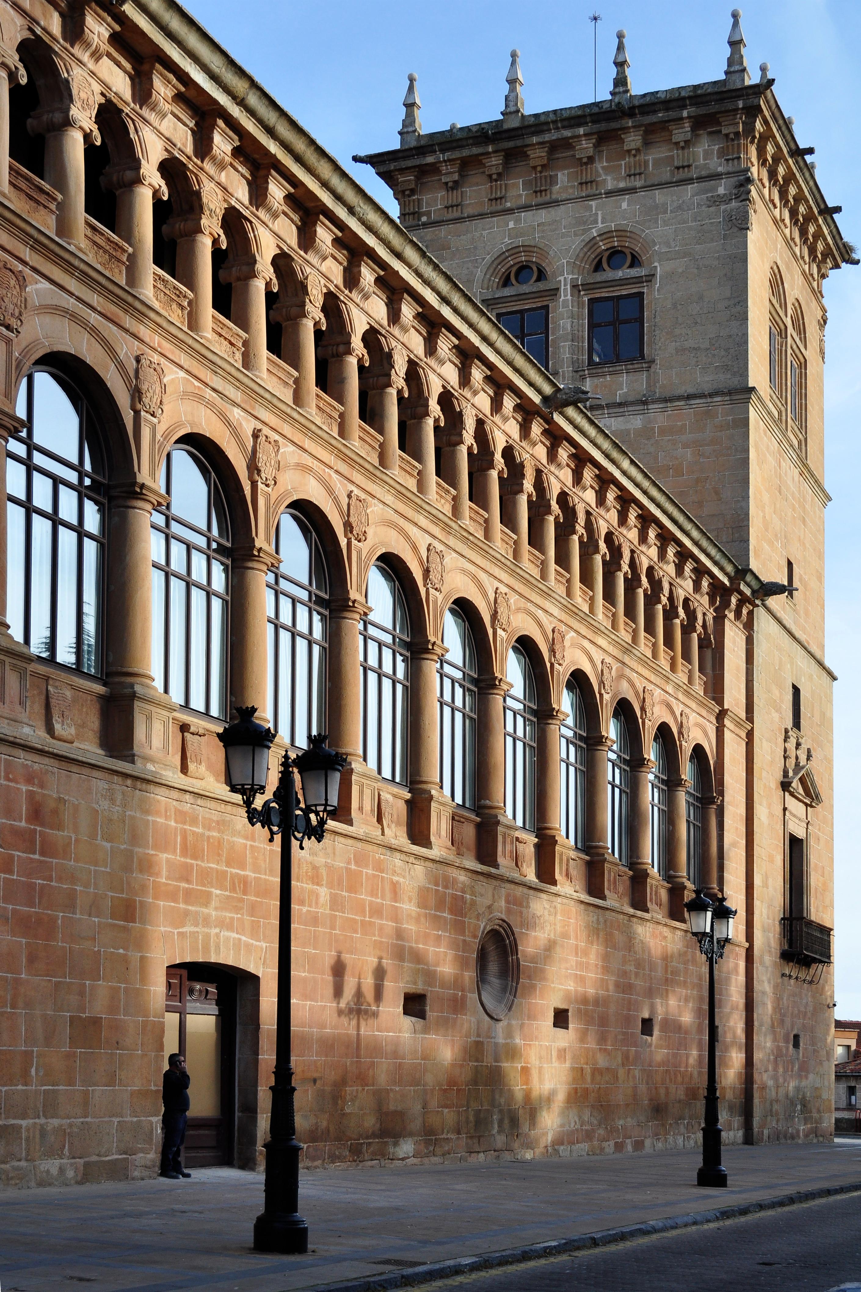 Palacio de los Condes de Gómara de Soria - Wikipedia, la ...