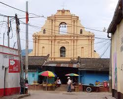 Iglesia católica de Aguacatán en 2016.