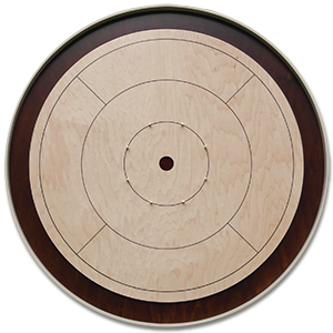 "A round tournament style crokinole board. Boards may also be octagonal, which is the more ""traditional"" shape. Crokinole Board.png"