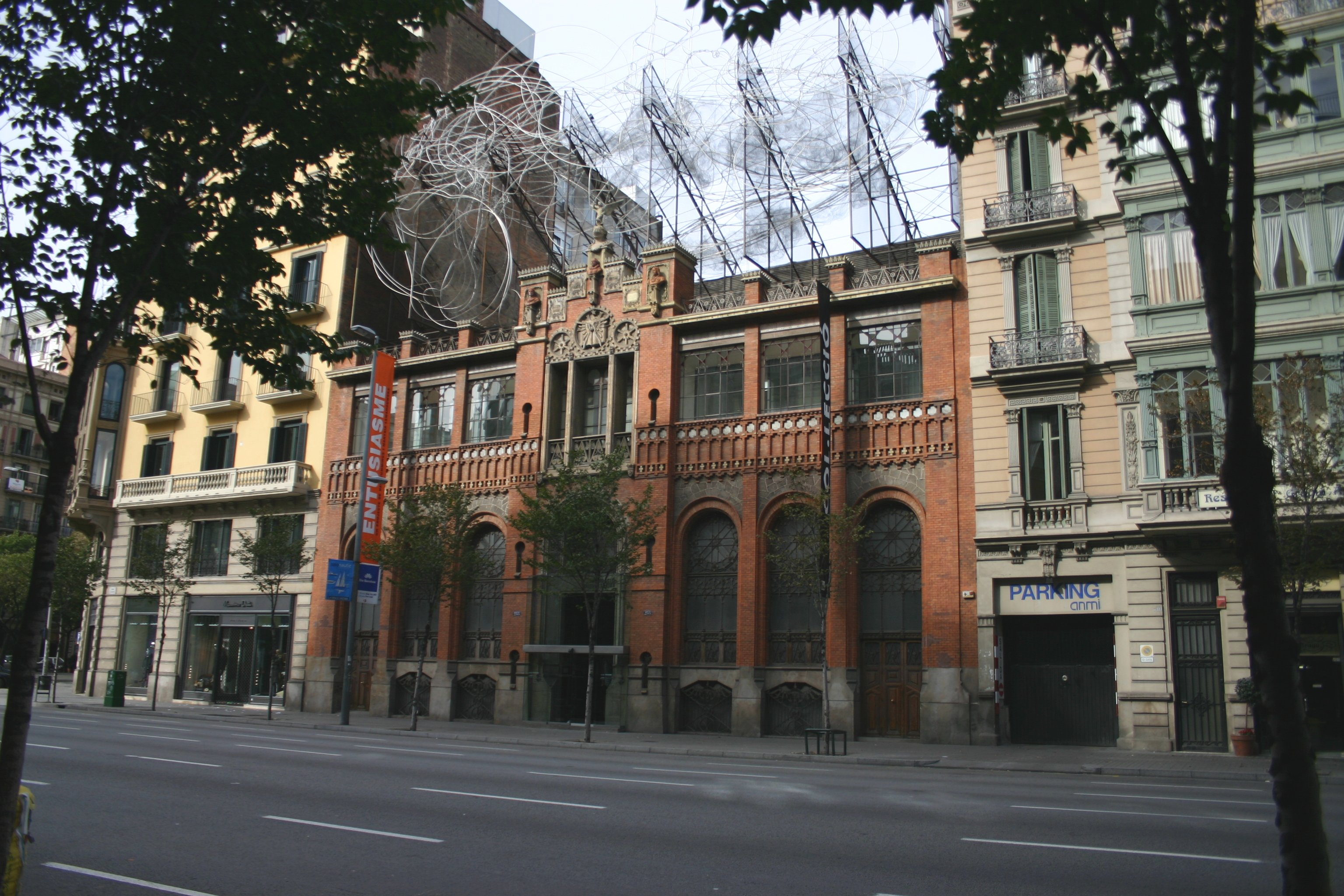 Antoni Tàpies Foundation in Barcelona