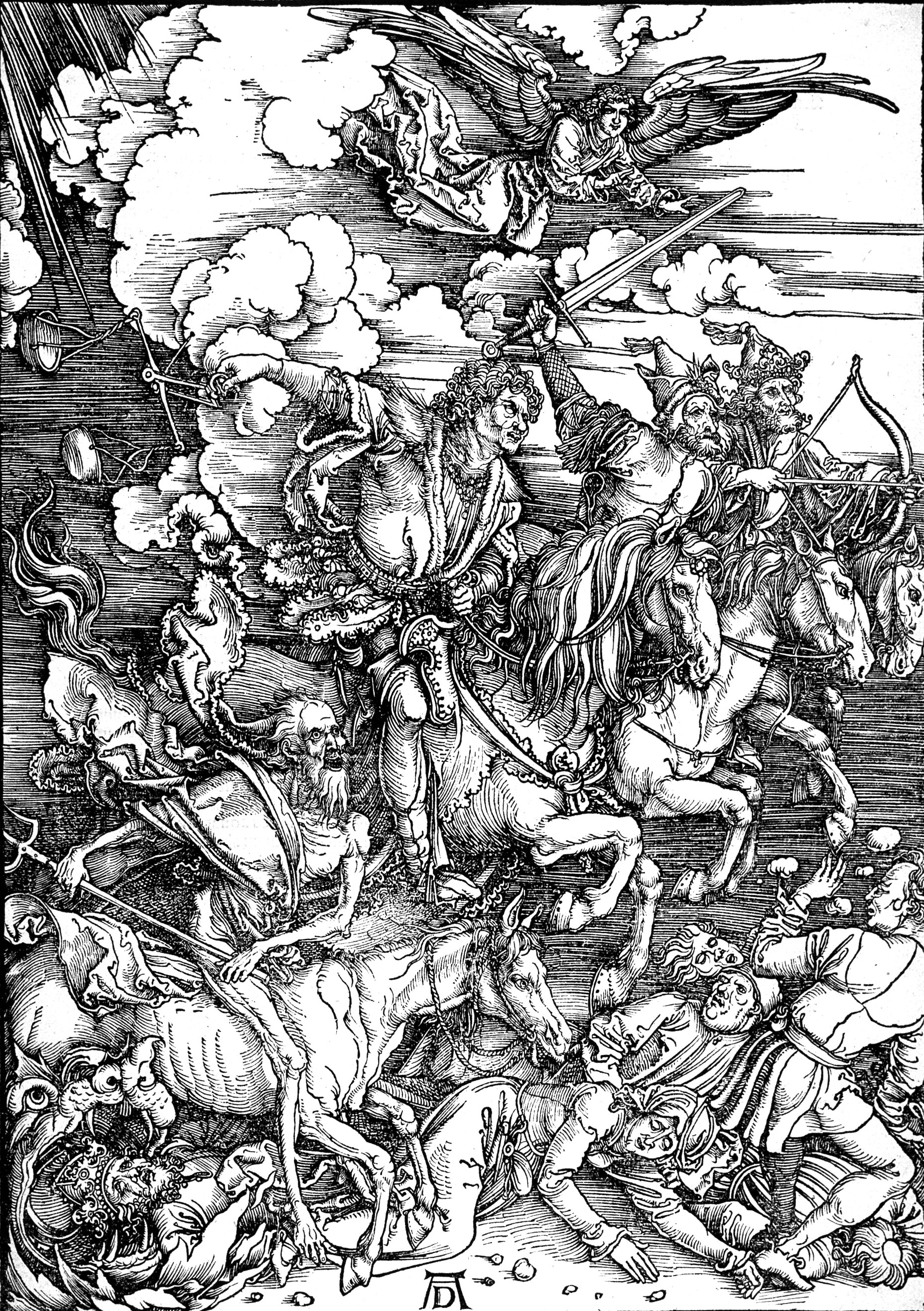 The Four Riders of the Apocalypse by Albrect Durer