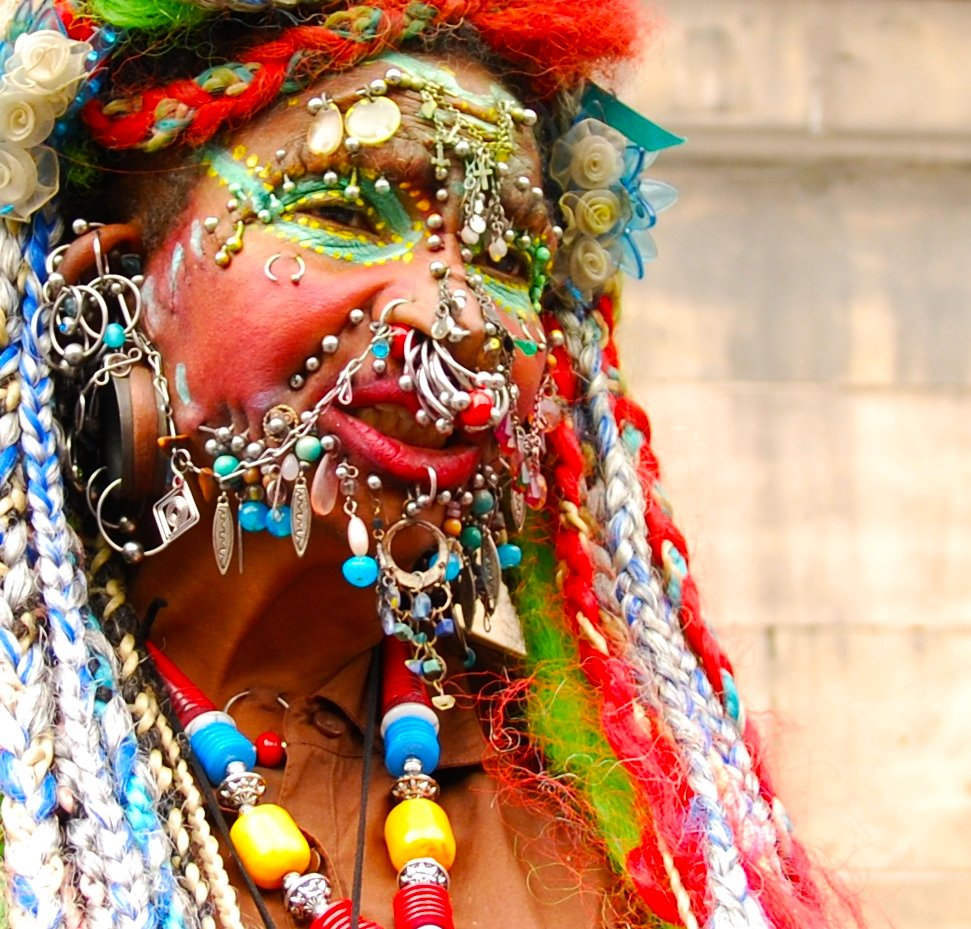 "Tattoos And Body Art World: Elaine Davidson Is The ""Most Pierced Woman"""