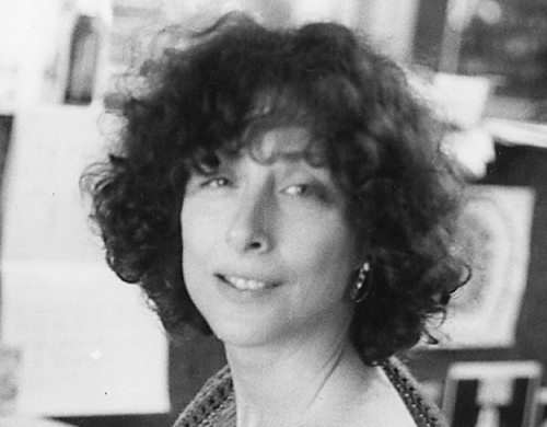 Ellen Willis at the Village Voice in the late 1970s