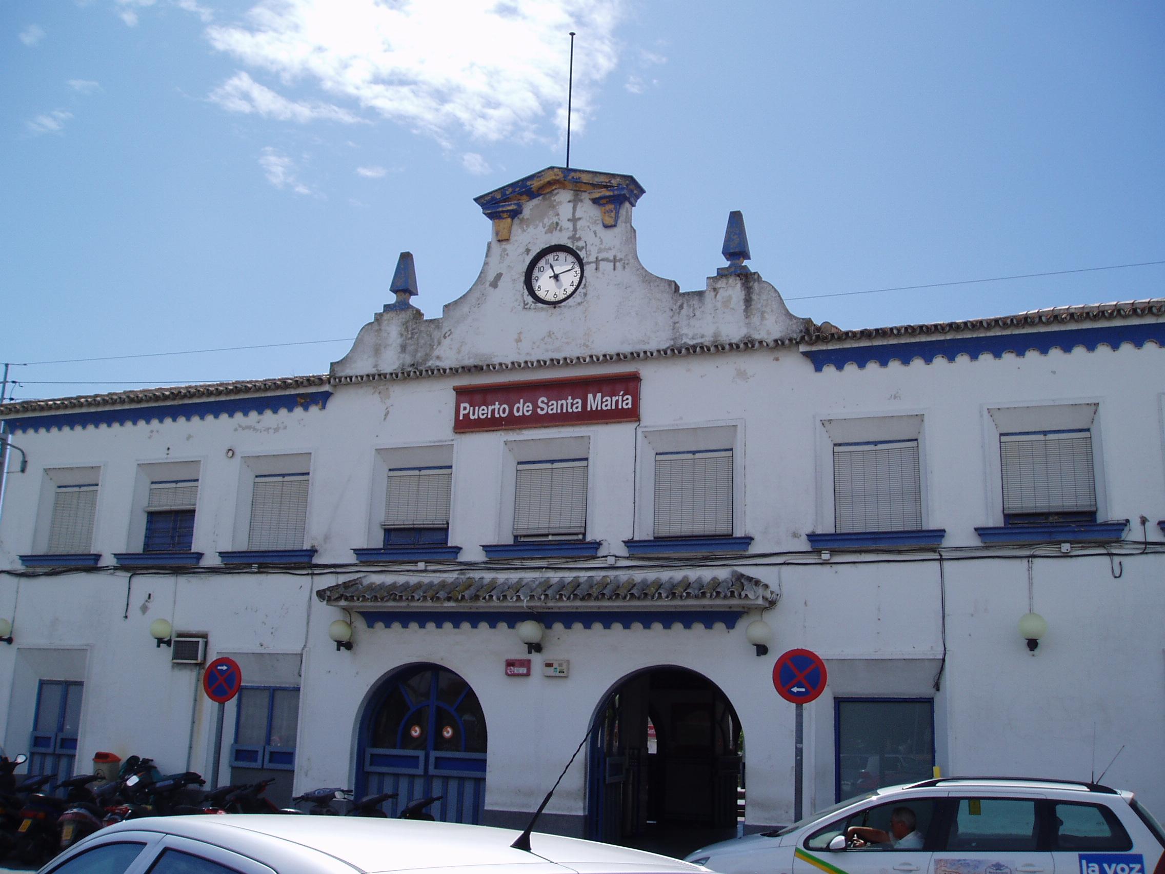 estación de ferrocarril de El Puerto de Santa Maria
