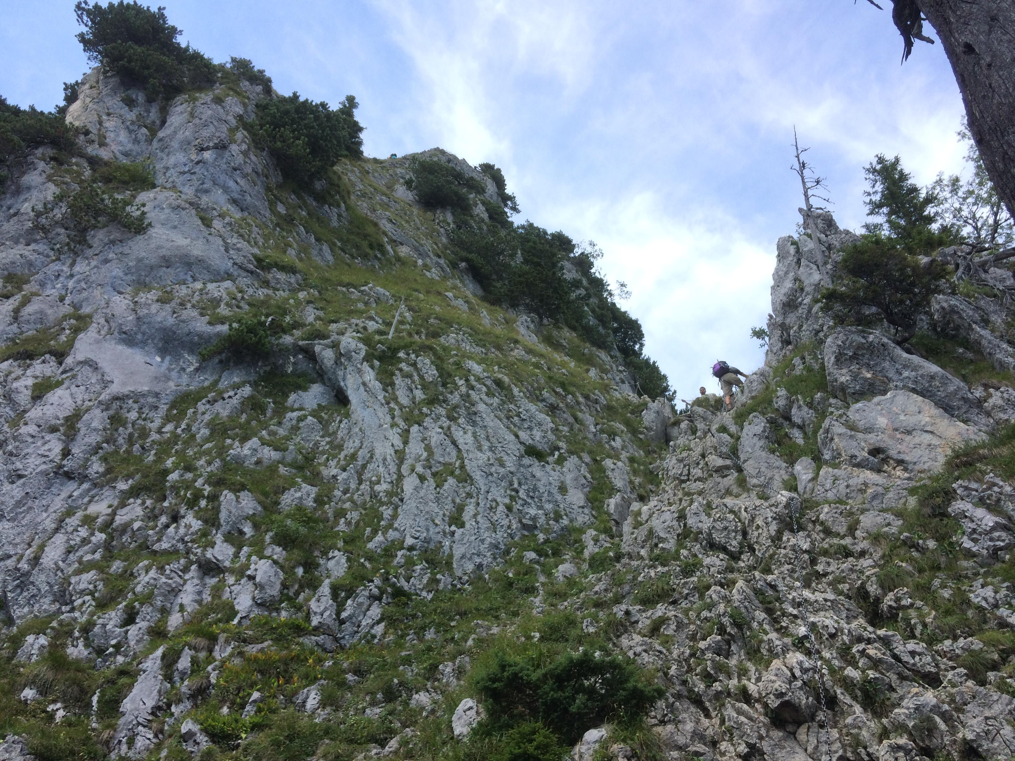 Klettersteig Am Ettaler Mandl : Datei ettaler mandl klettersteig g u wikipedia