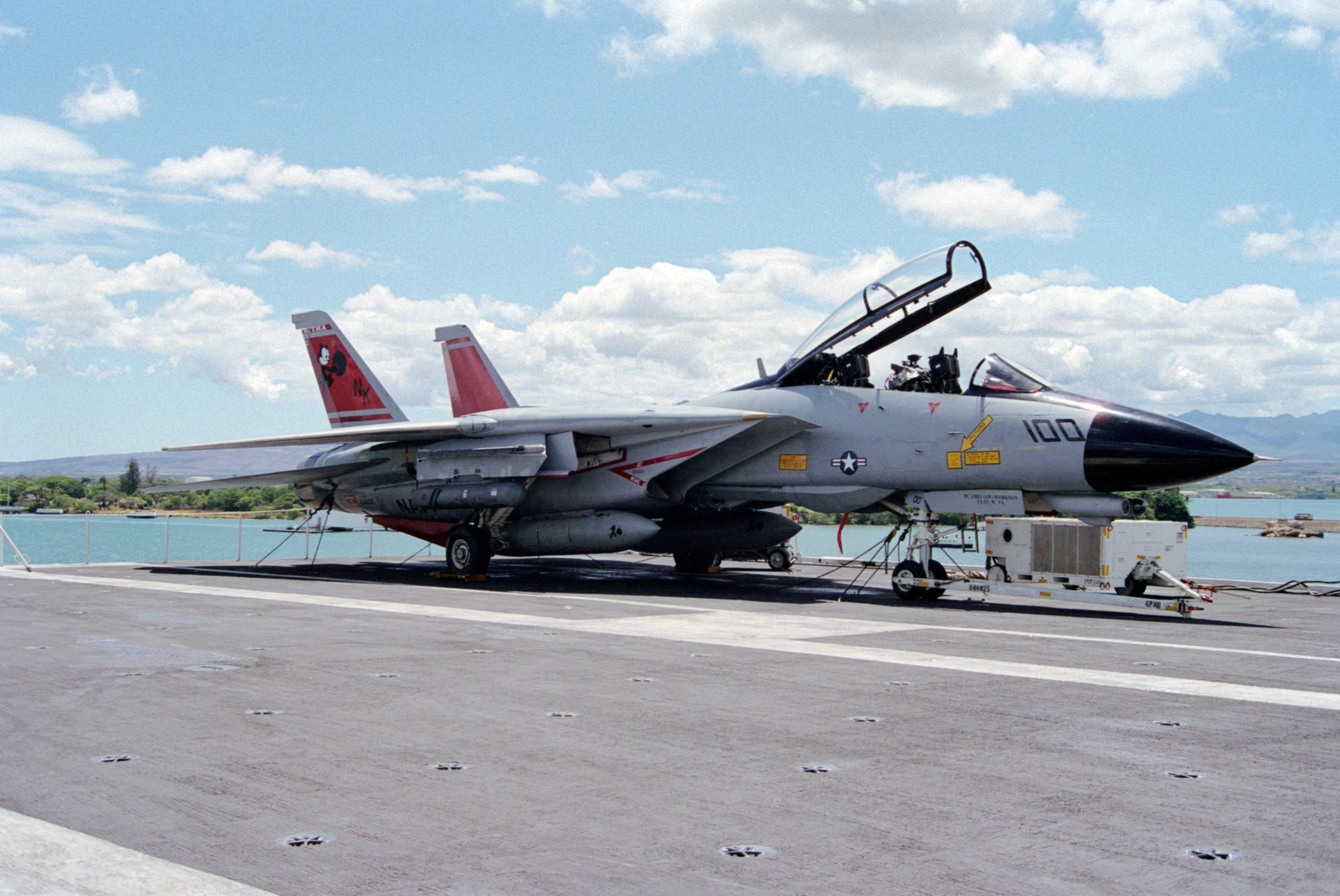 File F 14d Vf 31 On Uss Abraham Lincoln Cvn 72 At Pearl
