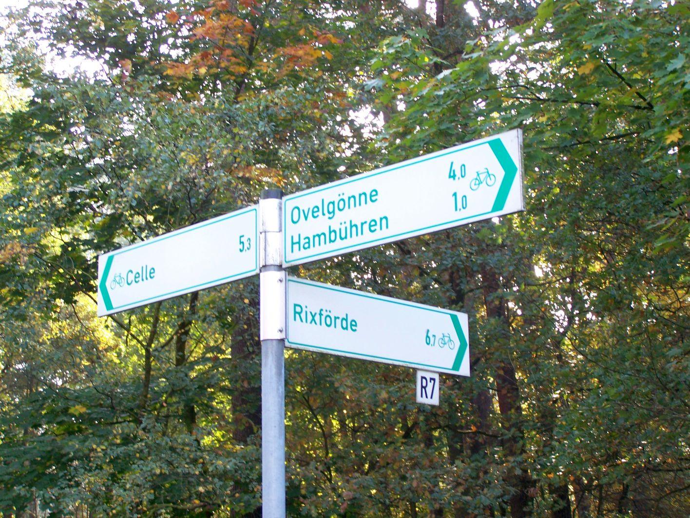 Fahrradwege Ostfriesland Karte.Radrouten In Niedersachsen Und Bremen Reiseführer Auf Wikivoyage