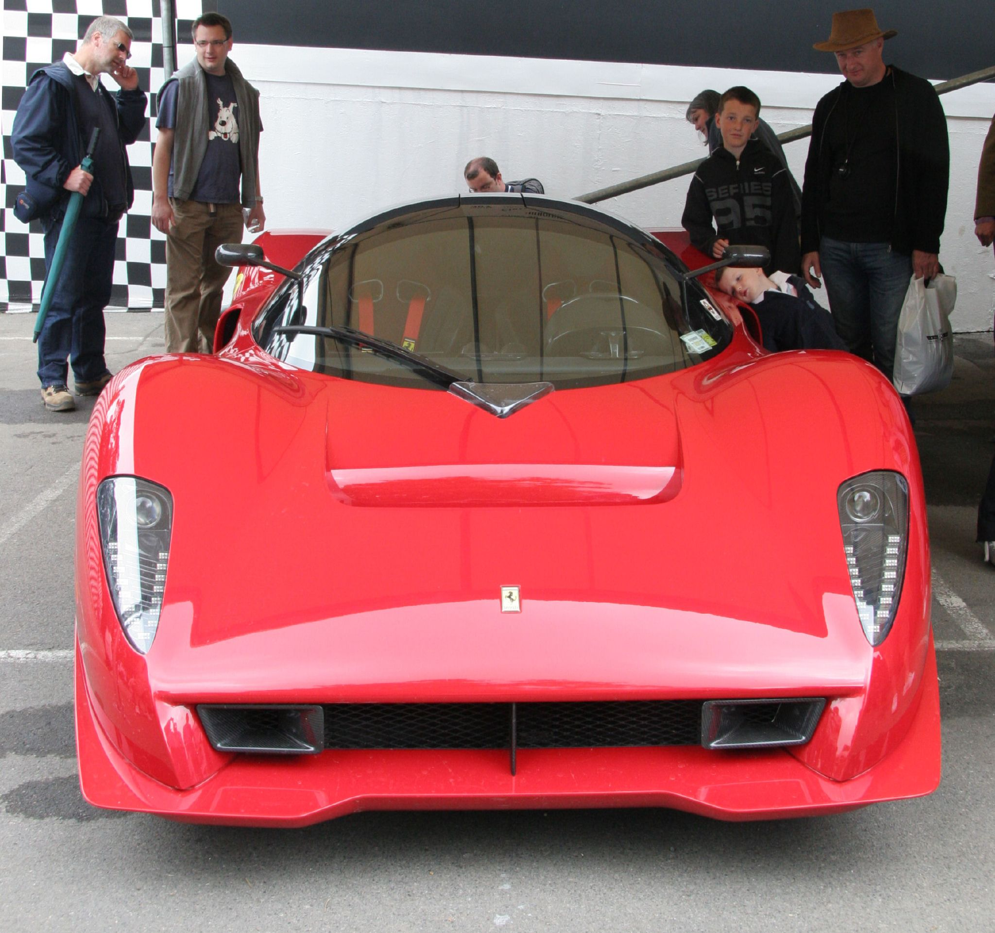 File:Ferrari P45 front on jpg - Wikimedia Commons