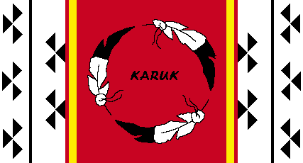 Flag of the Karuk Tribe of California