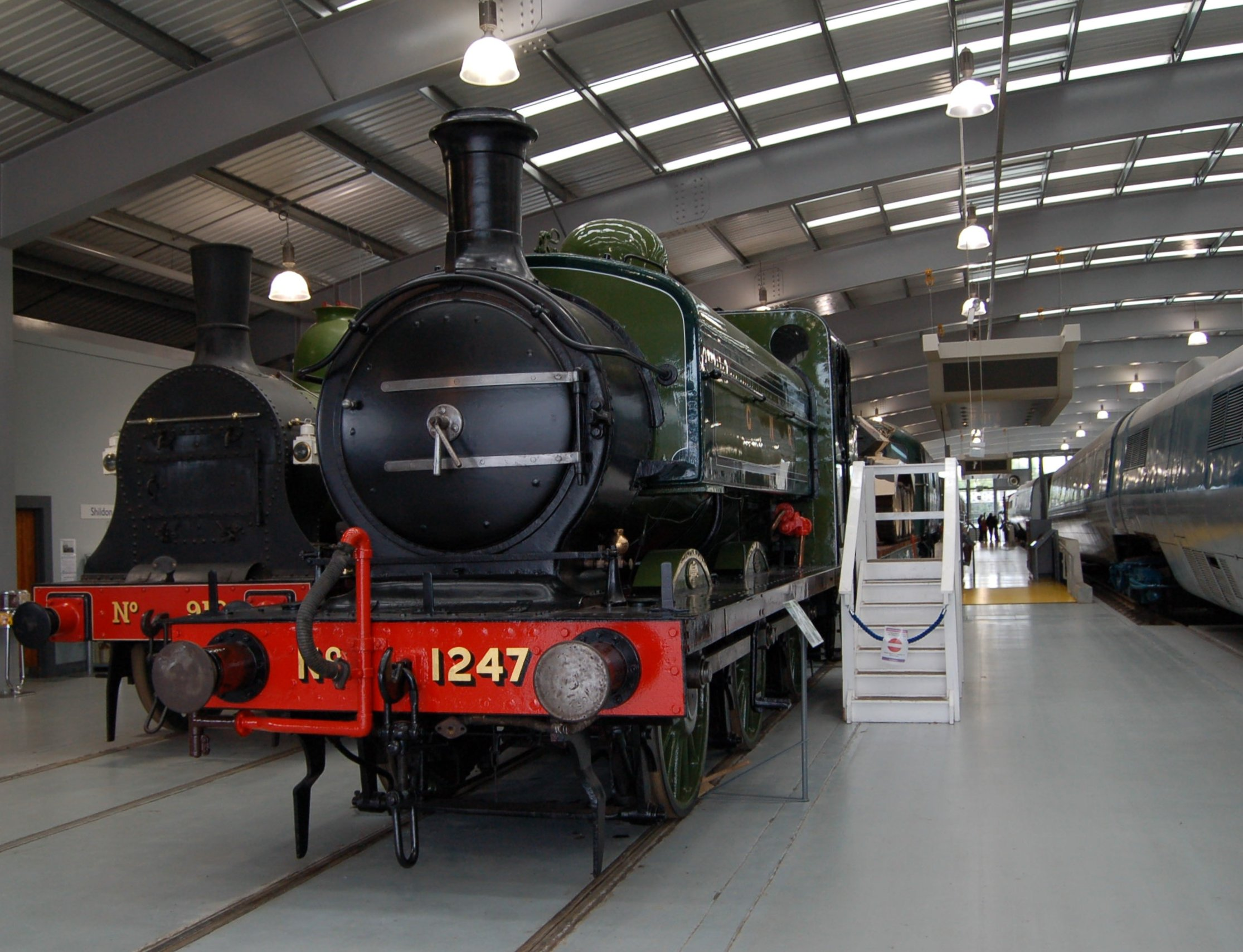 File:GNR 1247 at Locomotion Shildon.jpg