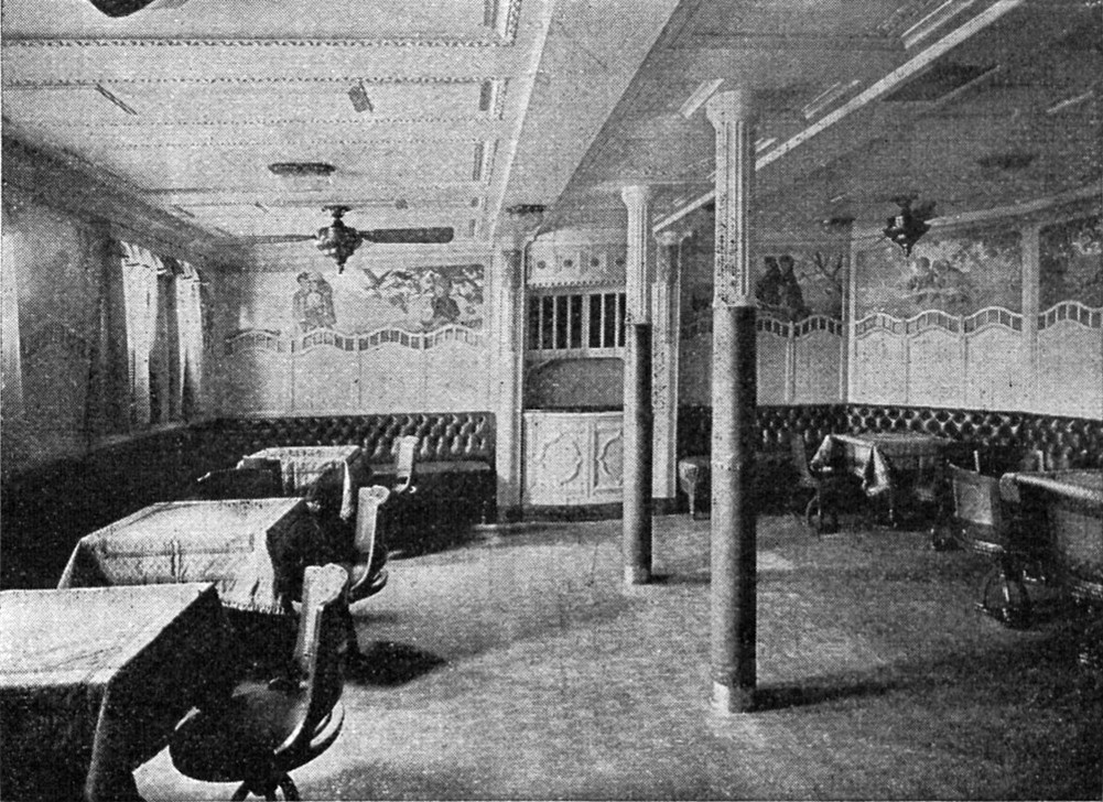 Children's playroom in the George Washington luxury steamer, built by the Norddeutsche Lloyd in 1909; Zeitschrift Deutscher Hausschatz, 1910