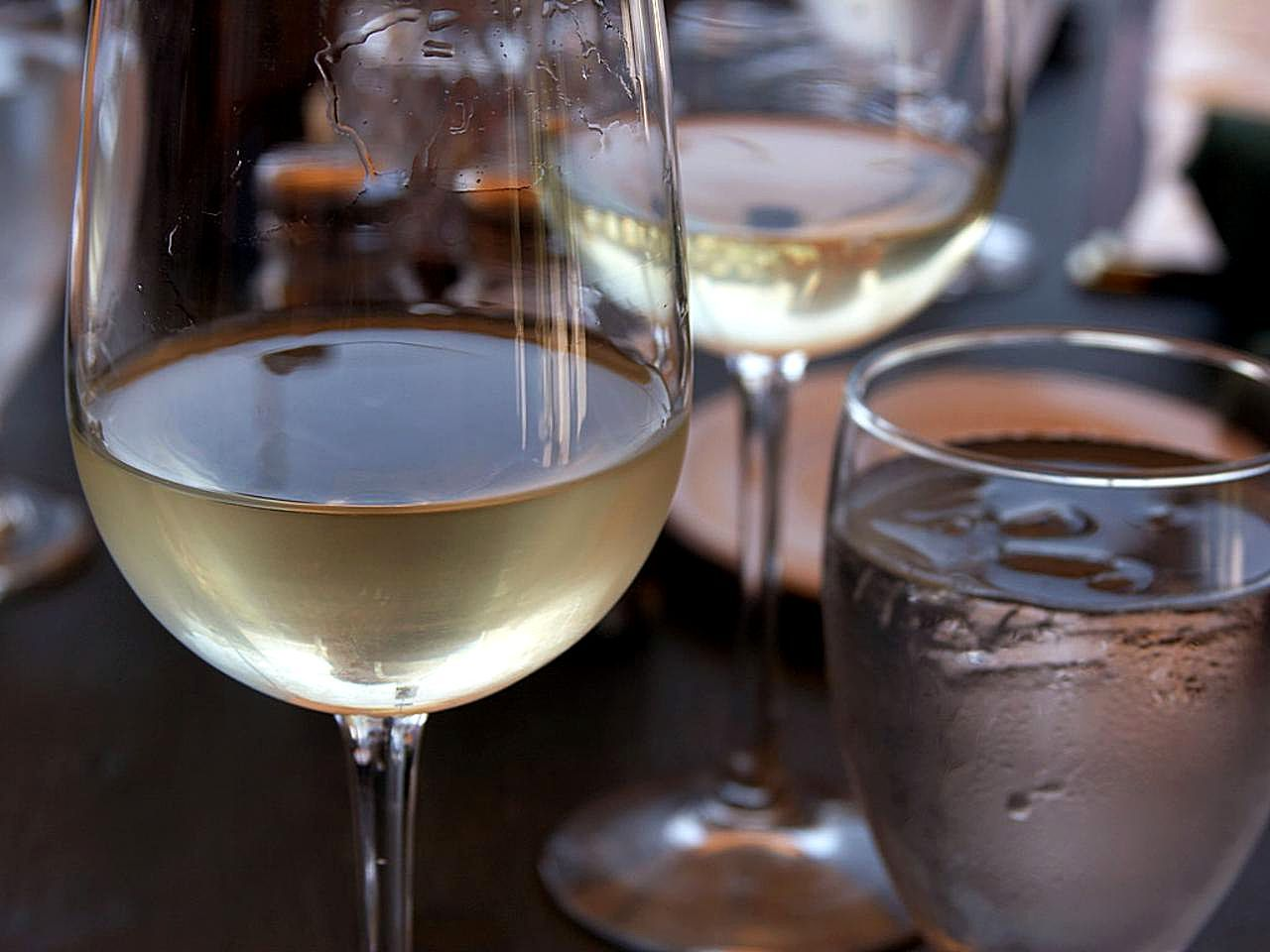 White Wine Drink With