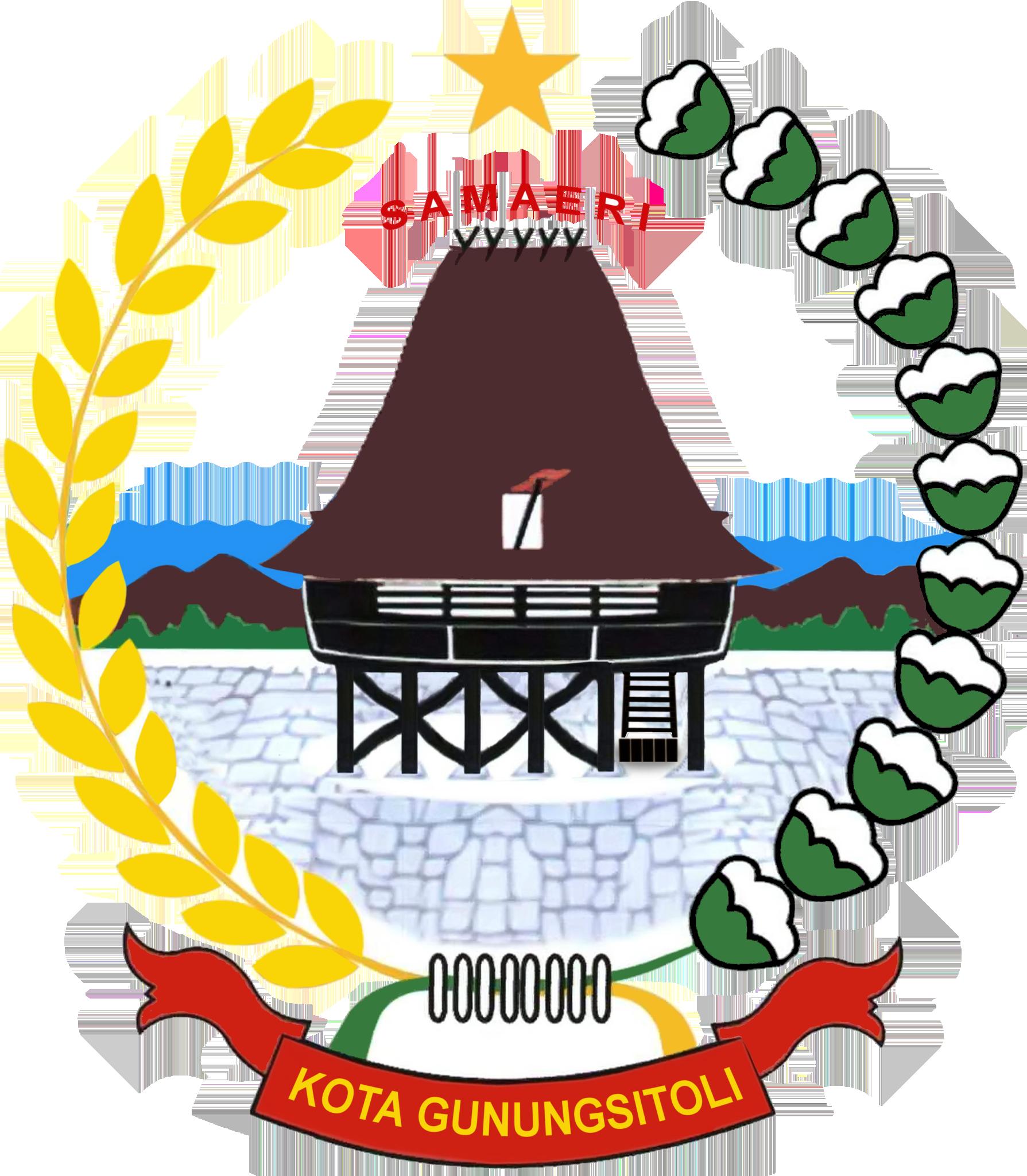 Berkas:Gunungsitoli Logo Official.png