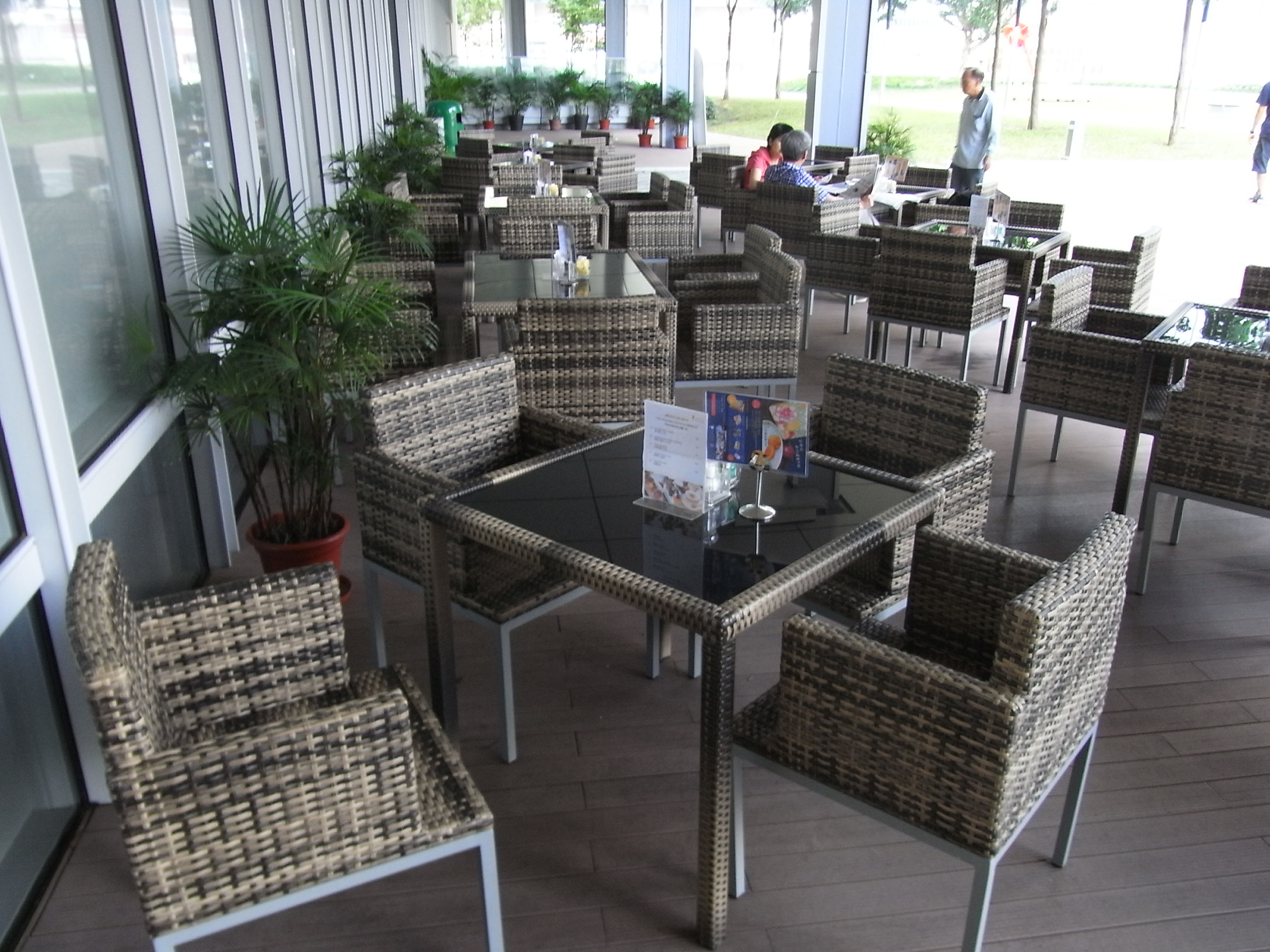 File HK Admiralty Tamar Park Restaurant Furniture Table Armchairs IBake