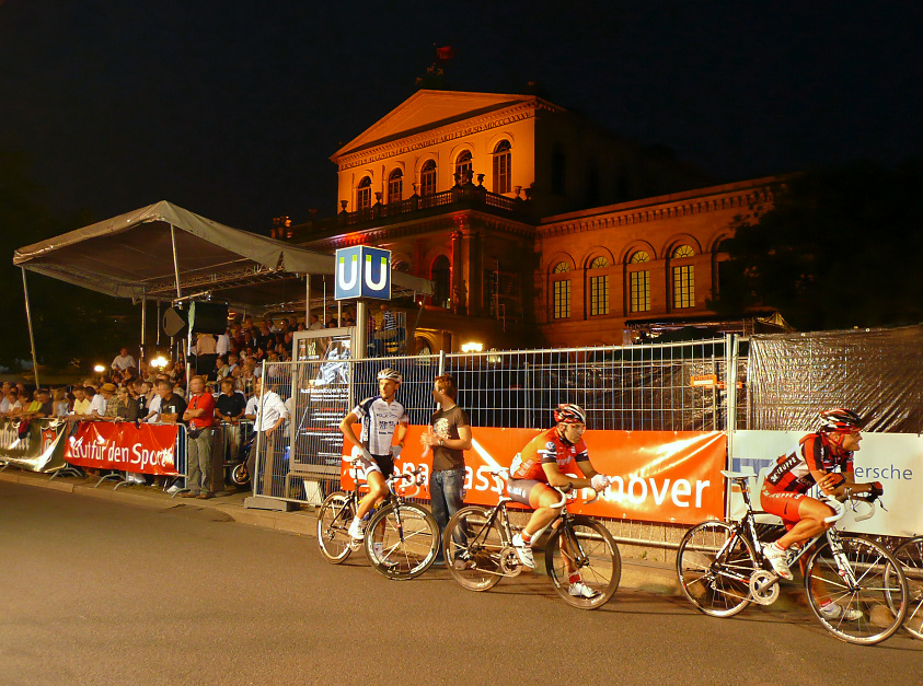 Startsituation 2008 bei der Nacht von Hannover