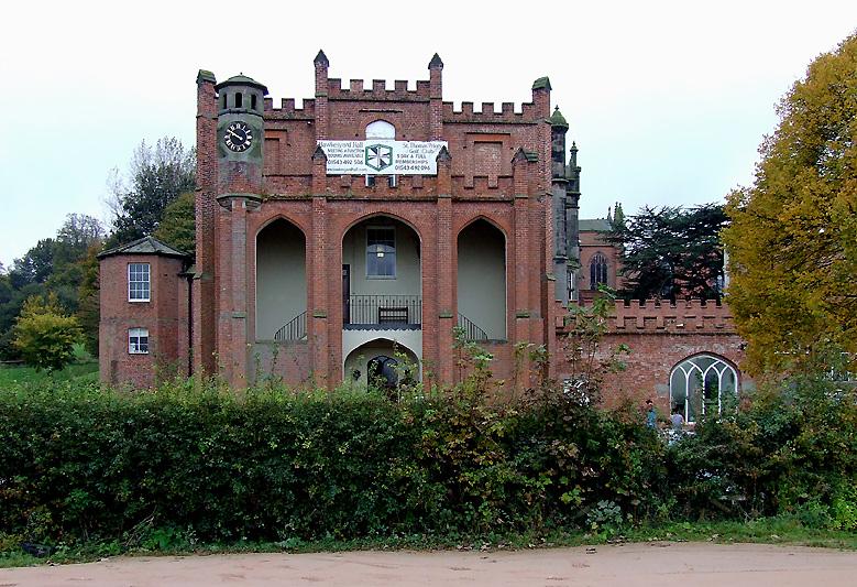 Hawkesyard Hall near Rugeley, Staffordshire - geograph.org.uk - 1680251