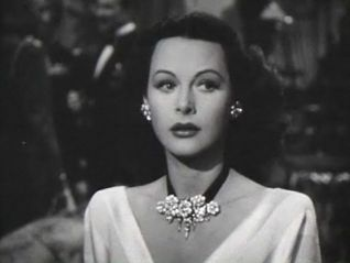 Hedy Lamar in the film The Conspirators, 1943