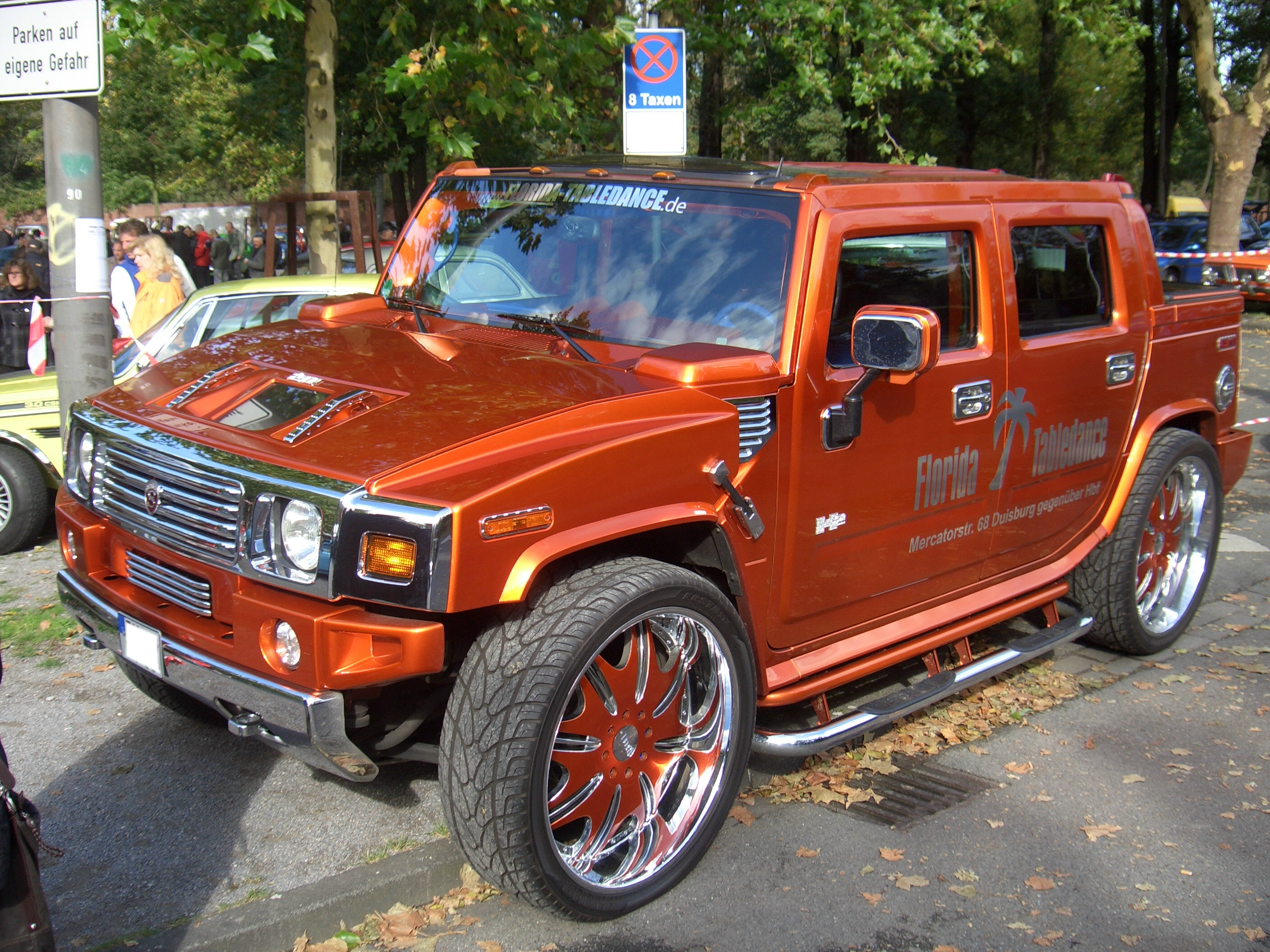 File Hummer H2 Sut From 2005 Strut Tuning Frontleft 2009