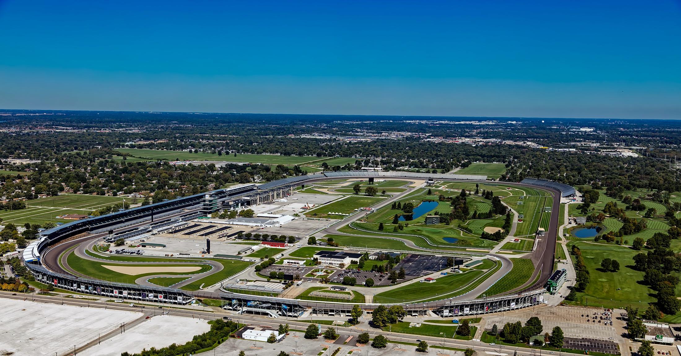 Indianapolis Motor Speedway空拍