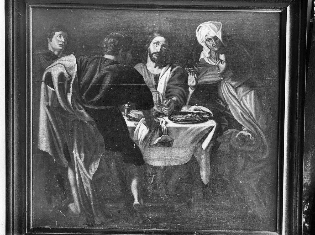 File interieur schilderij heilig avondmaal in de pastorie