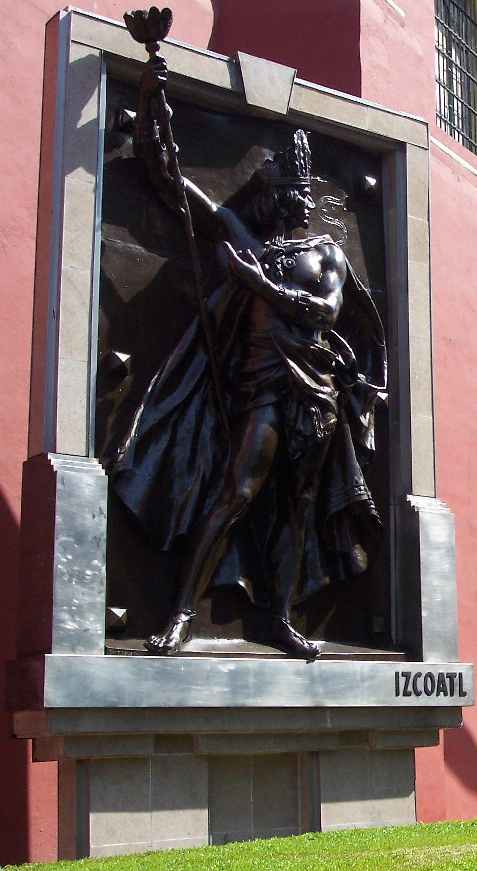 Depiction of Tlatoani