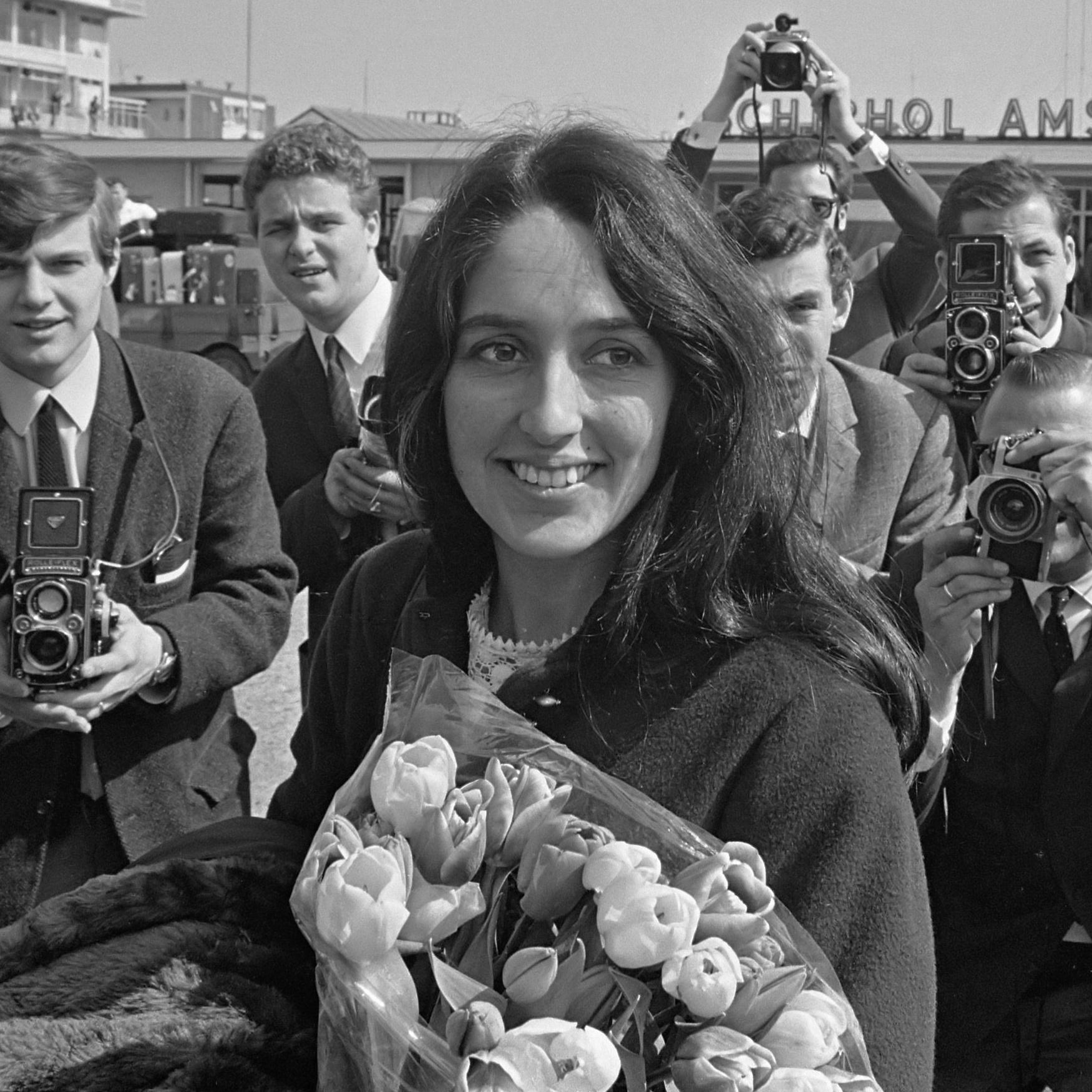 Joan Báez en 1966.