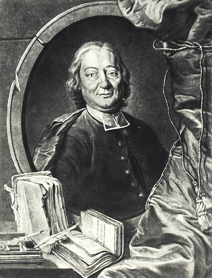 Johann Jakob Breitinger, in an engraving after [[Johann Kaspar Füssli