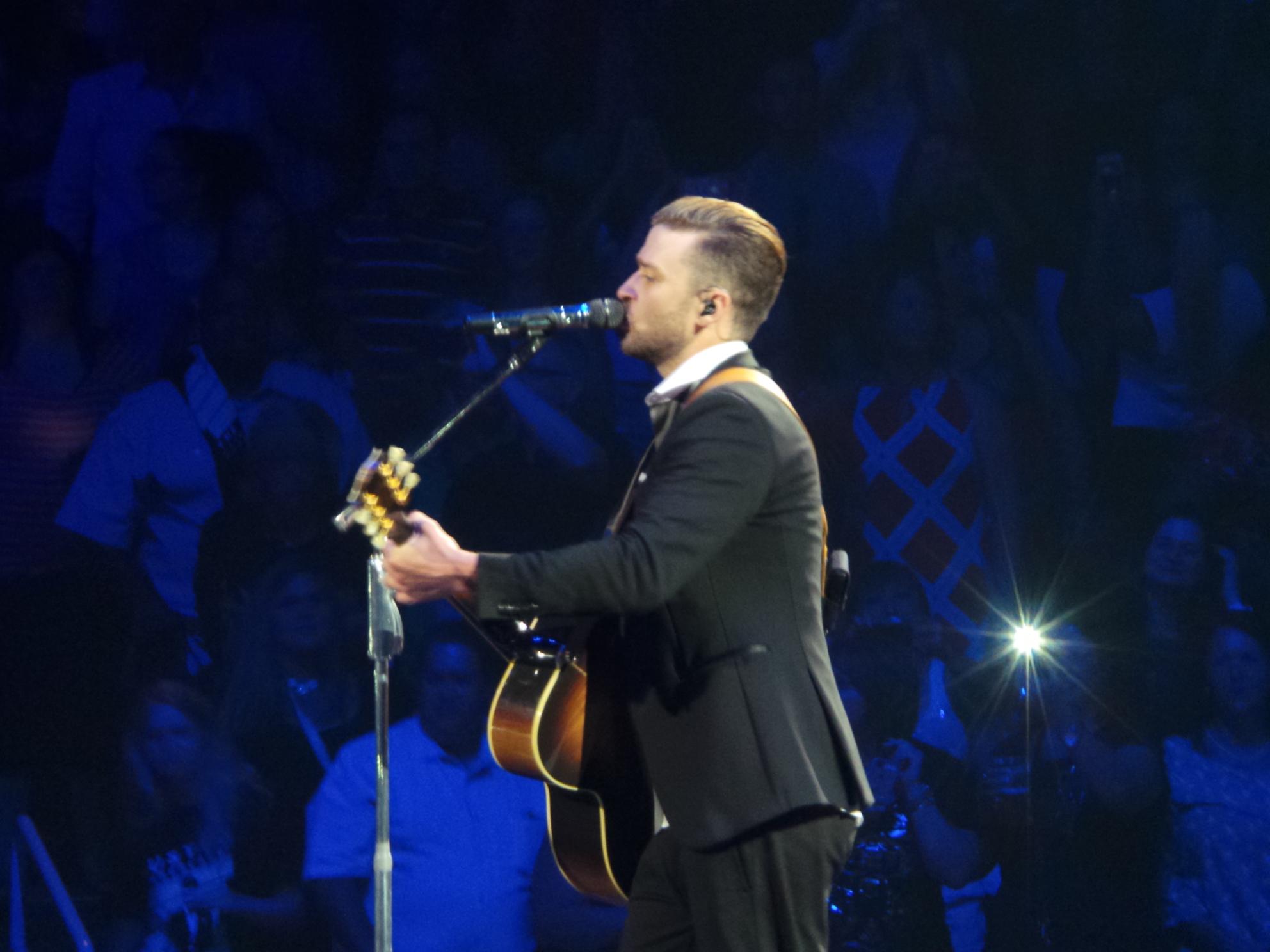 Justin Timberlake Tour T Shirt