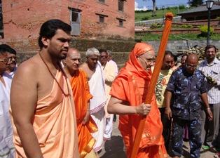 Kesavananda Bharati Indian pontiff