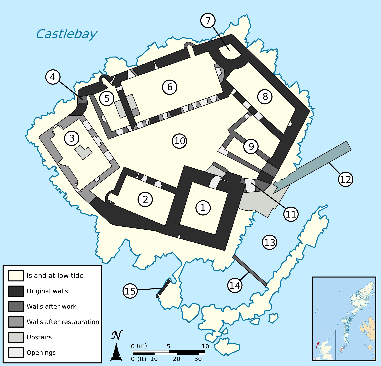File kisimul castle map labelled wikimedia commons for Floor plan mapper