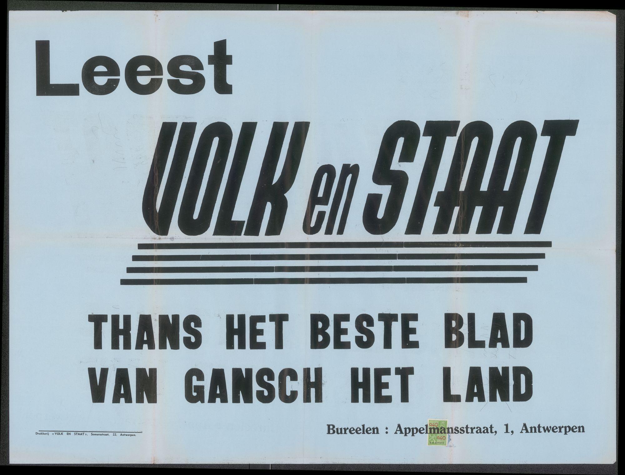 3d6519419 File:Leest Volk en Staat, Thans het beste blad van gansch het land ...
