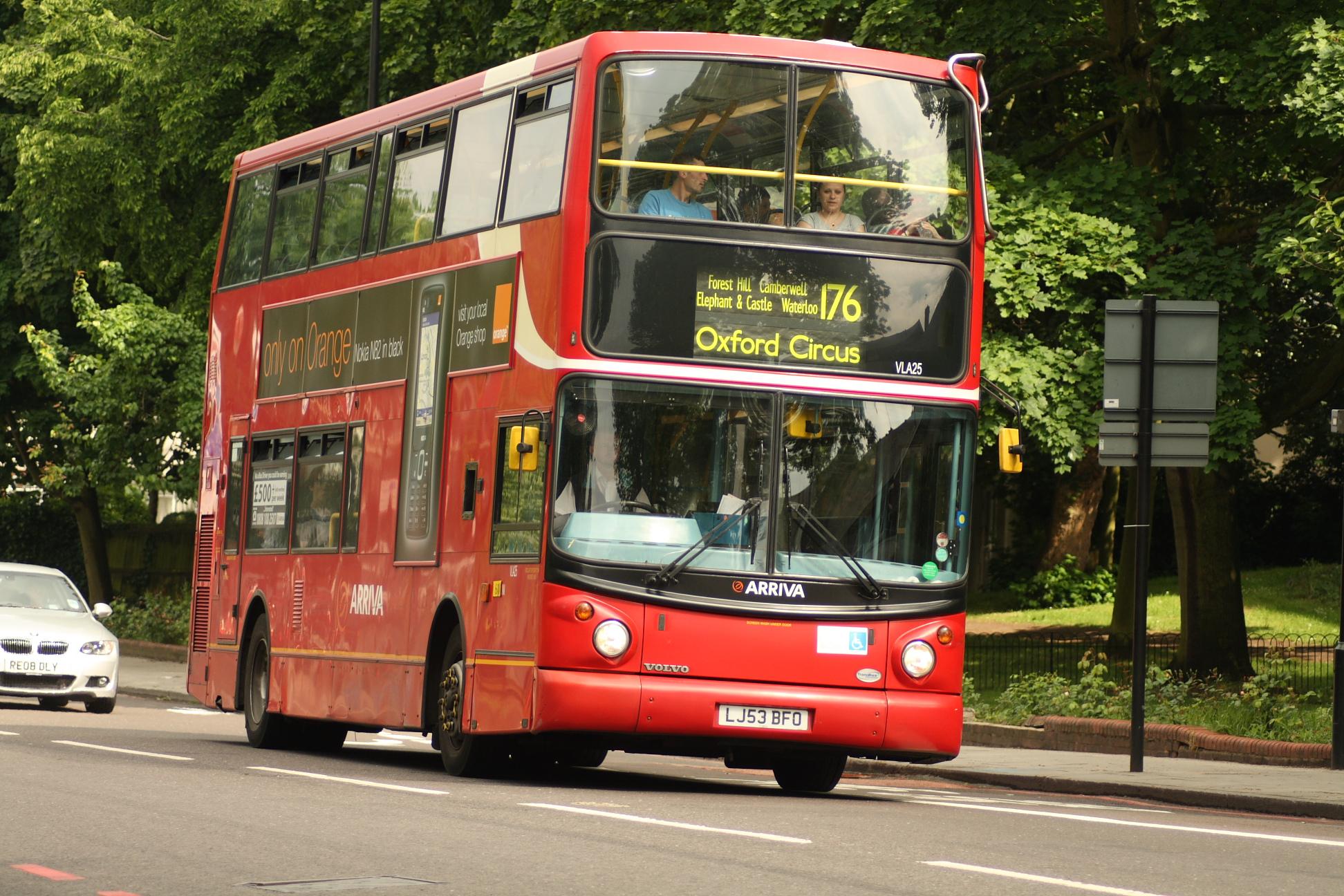 Description London Bus route 176jpg ps9GWNTy