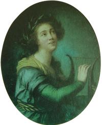 Luísa Todi. Retrato pintado por Élisabeth-Louise Vigée-Le Brun em 1785. Museu da Música, Lisboa.