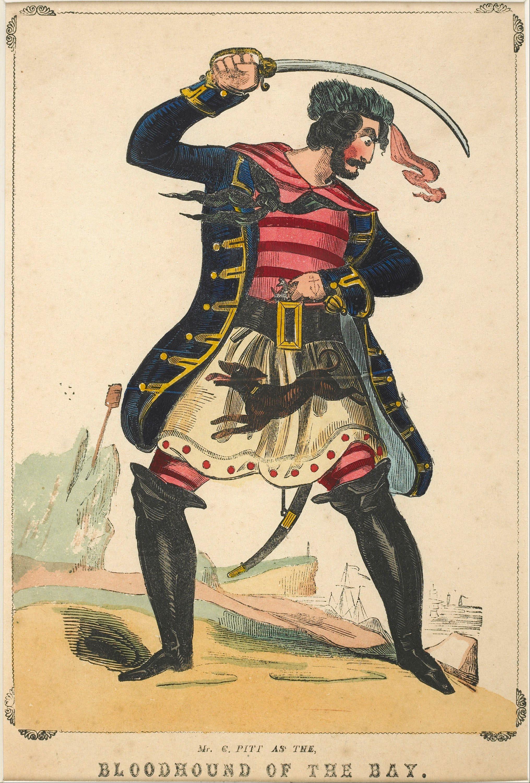 File marks j l theatrical portrait mr c pitt as the - Monsieur pirate ...