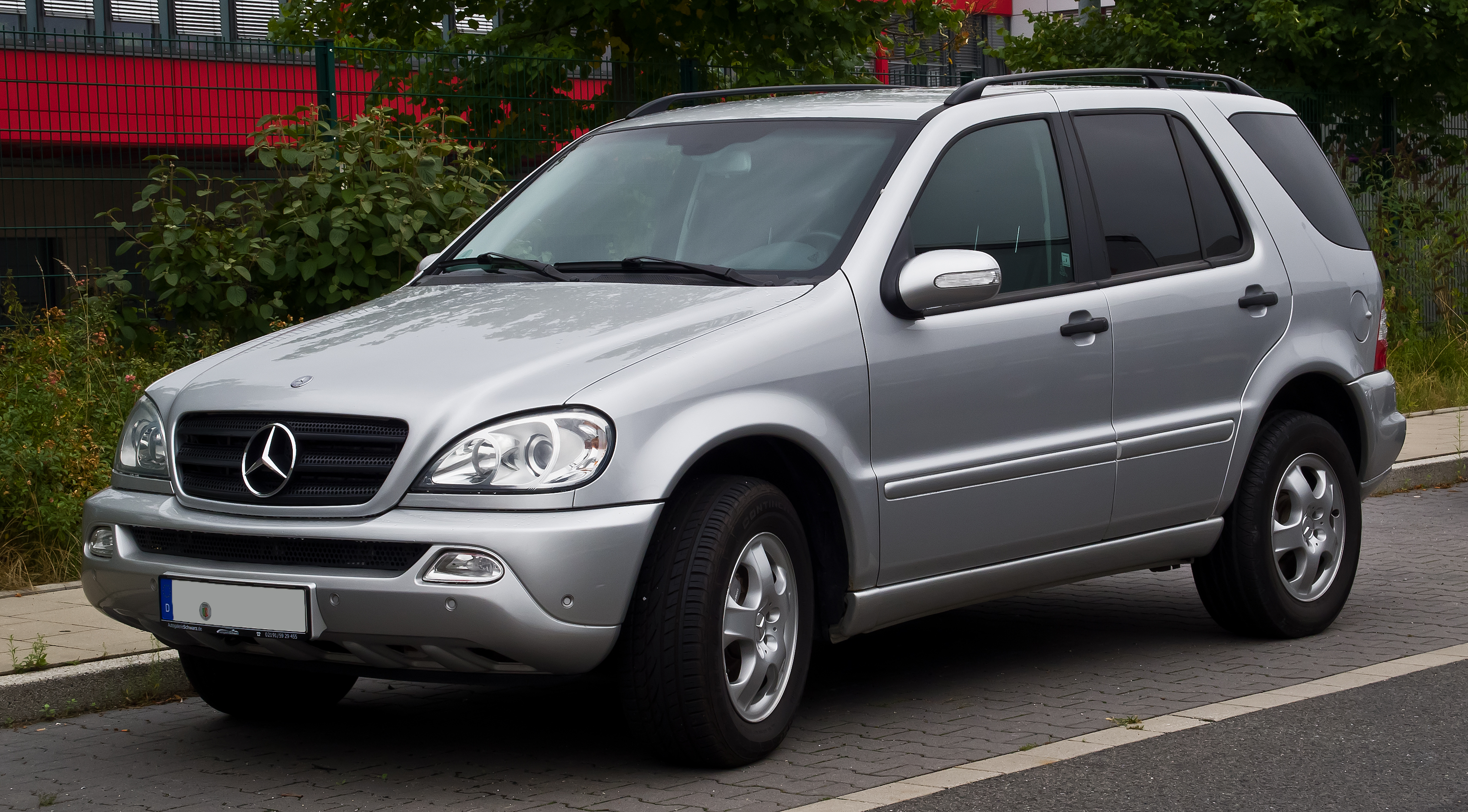 file mercedes benz ml 270 cdi w 163 facelift. Black Bedroom Furniture Sets. Home Design Ideas