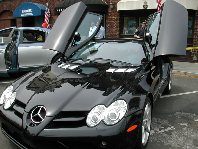 Mercedes-Benz SLR McLaren Exotic Cars