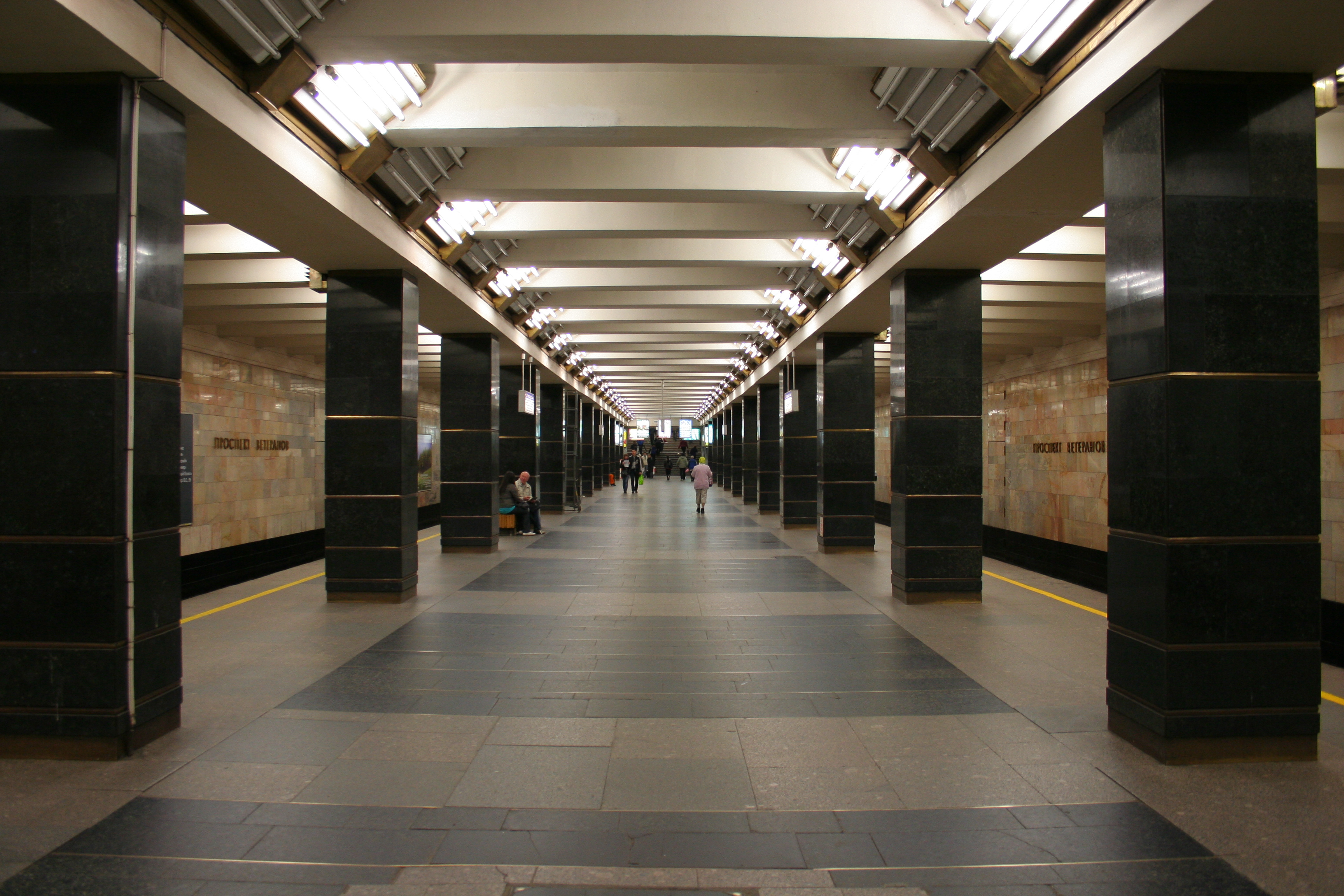 prospekt veteranov saint petersburg metro wikiwand. Black Bedroom Furniture Sets. Home Design Ideas
