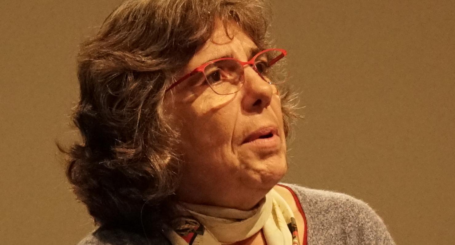 Michèle Audin, 2016.